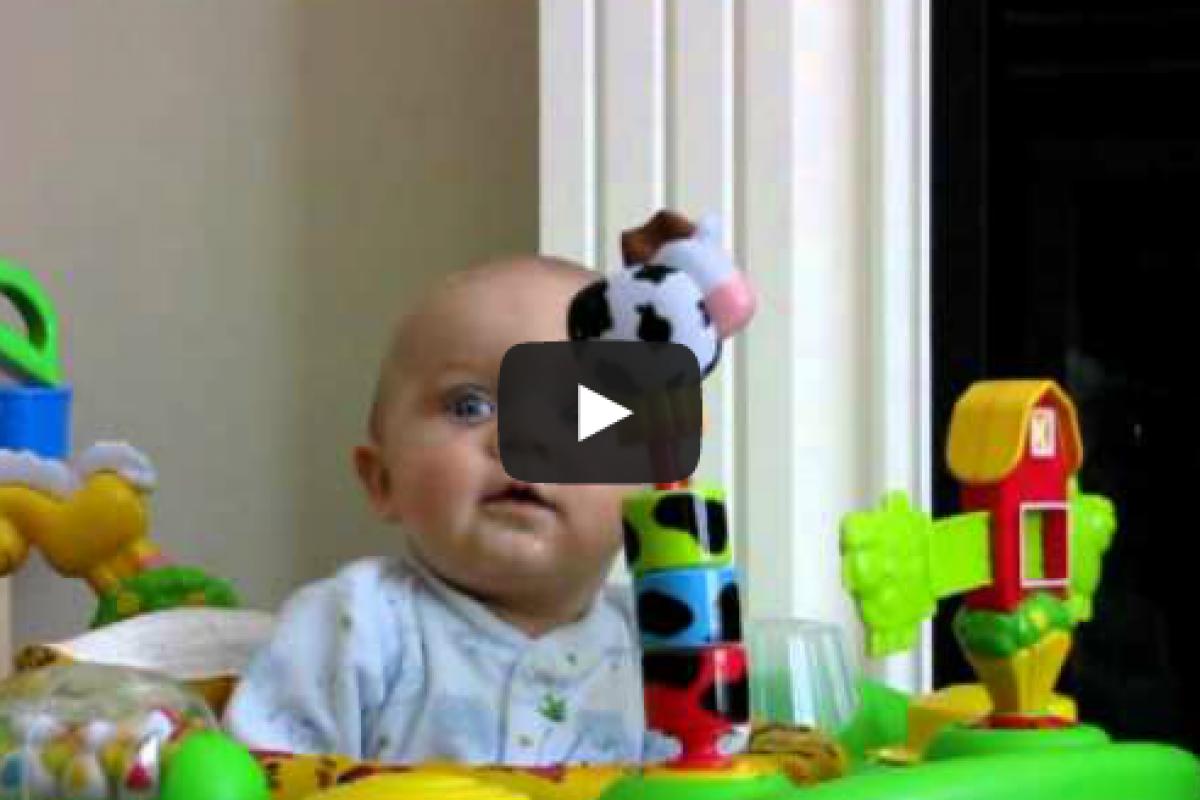 Η πιο θεική αντίδραση μωρού EVER!
