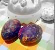 Βάψε τα αβγά με κλωστές φλος!