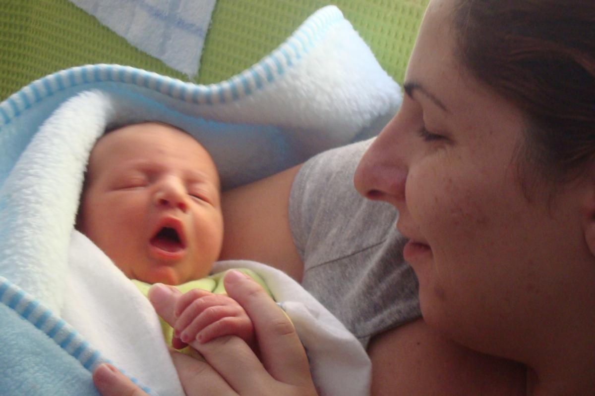 Είμαι περήφανη που γέννησα φυσιολογικά!