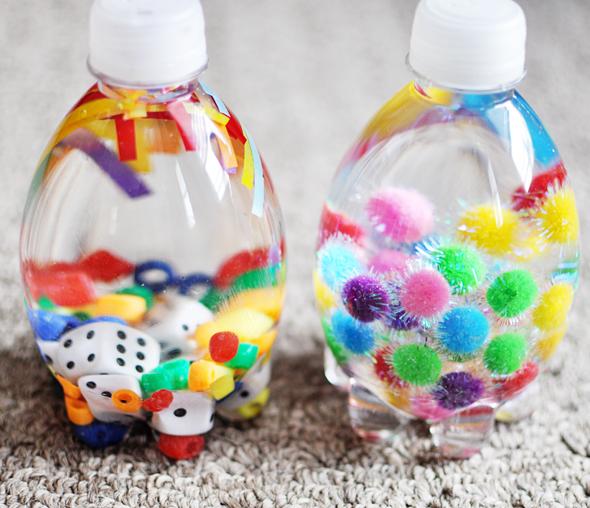 Φτιάξτε μαγικά μπουκάλια!