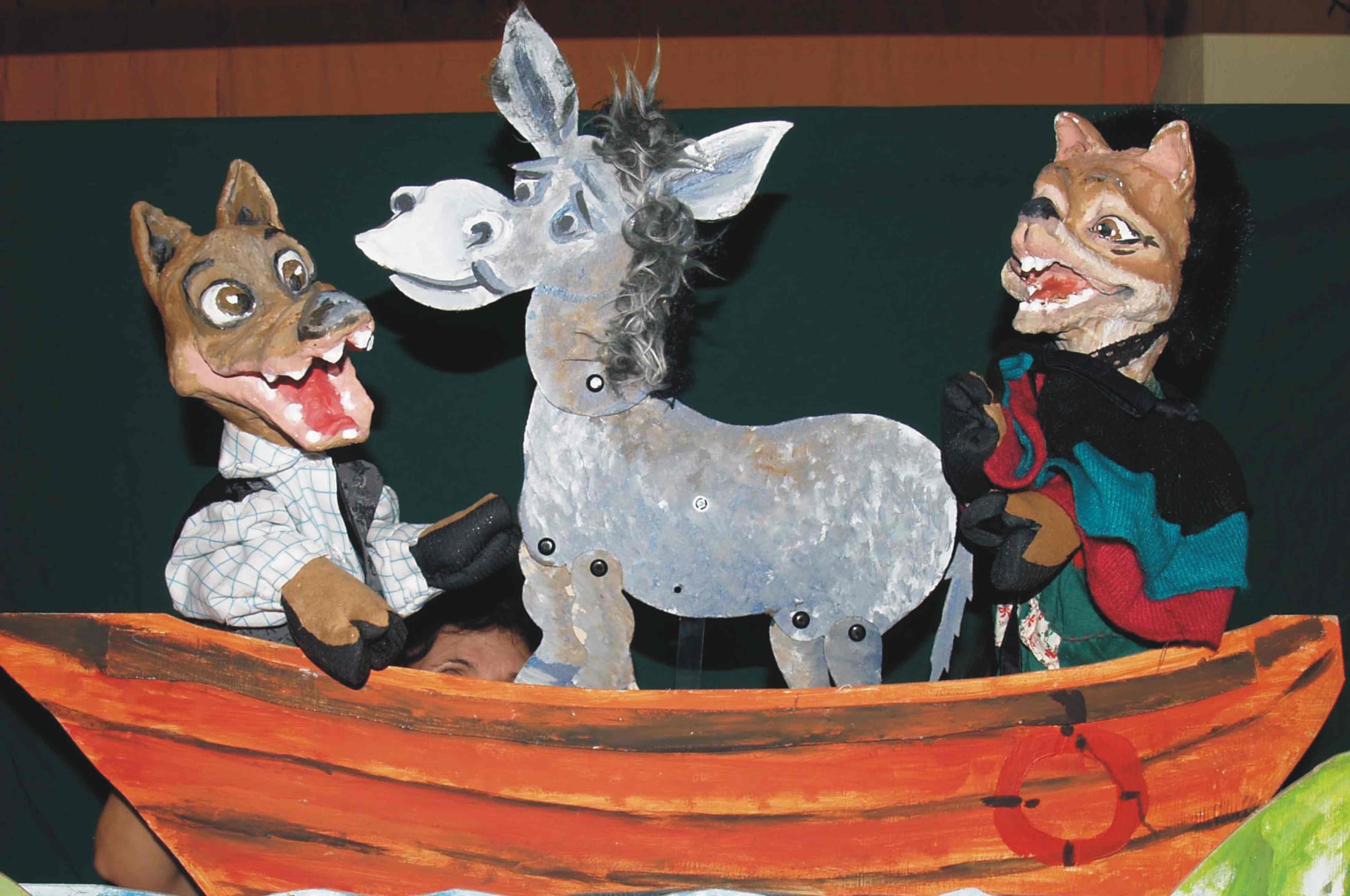 «Η αλεπού, ο λύκος και ο  γάιδαρος» στη «Μικρή Αυλαία της Χ.Α.Ν.Θ» (Kερδίστε 2 διπλές προσκλήσεις!!)