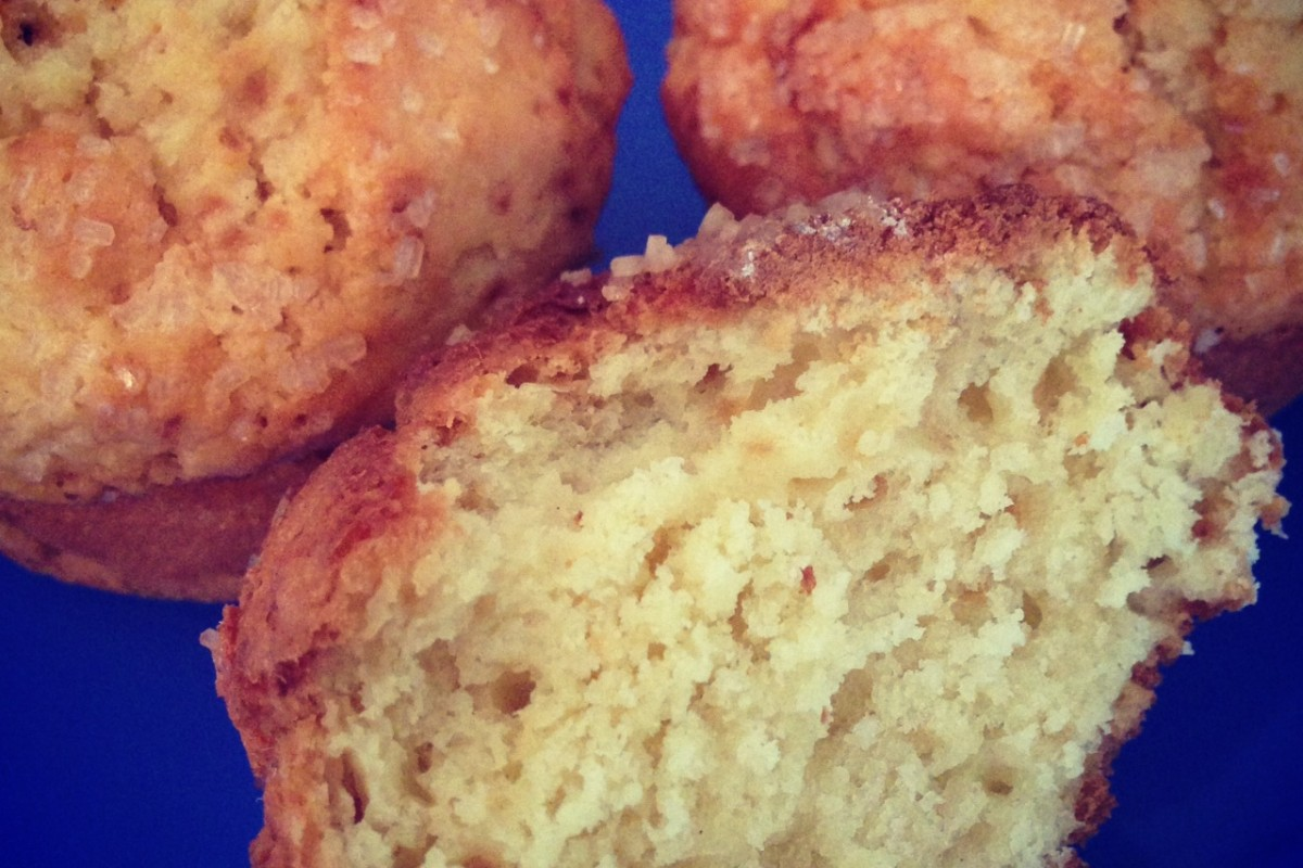Muffins με κρέμα τυριού!