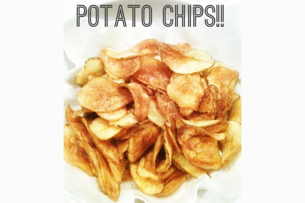Τα πιο τραγανά, γευστικά, συγκλονιστικά πατατάκια θα τα φτιάξετε εσείς!