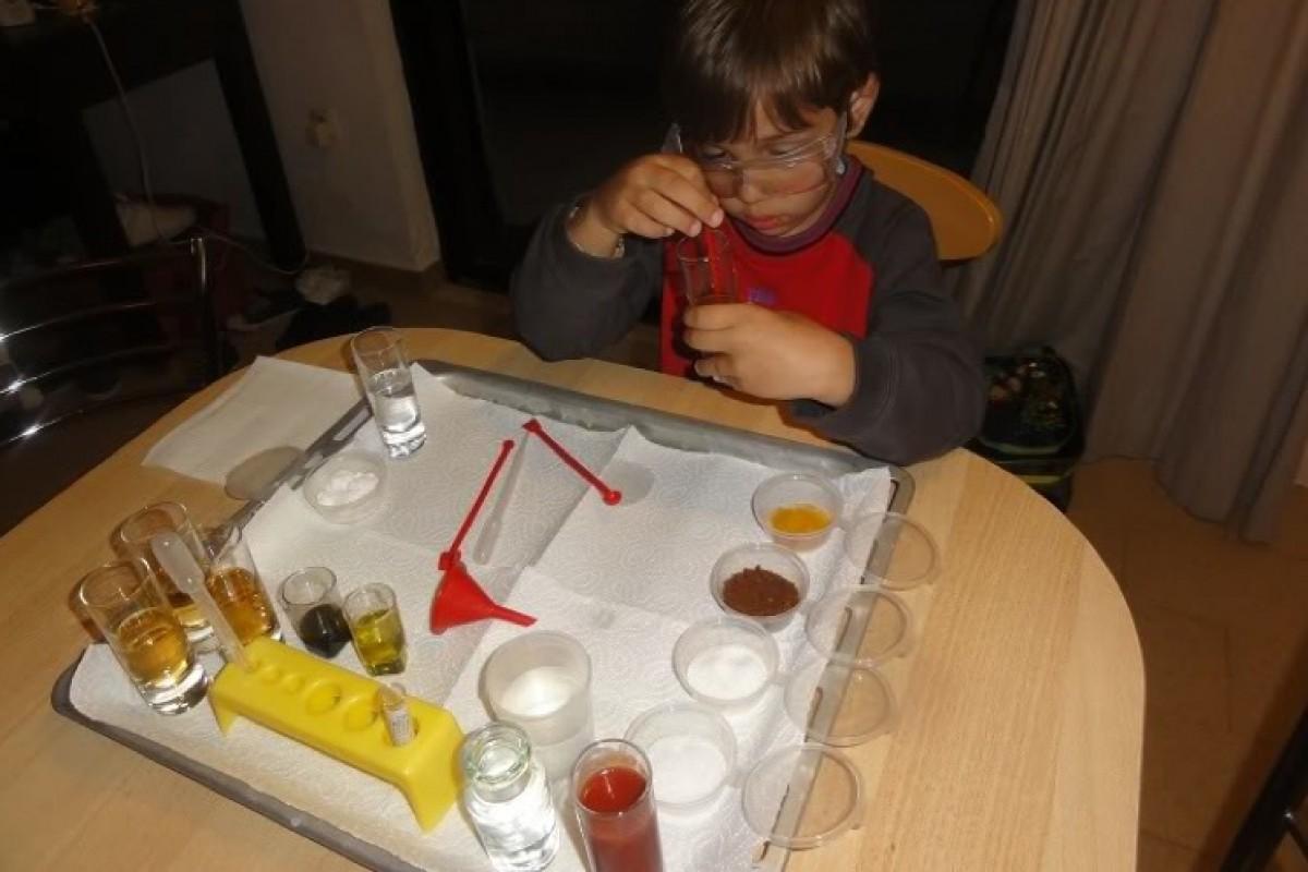 Επιστημονικά Πειράματα στο σπίτι! (3+ χρονών)