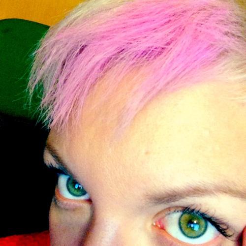 ροζ κιμωλία μαλλιών