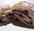 Γλυκό ψωμί γεμιστό με μερέντα και τριμμένο φουντούκι