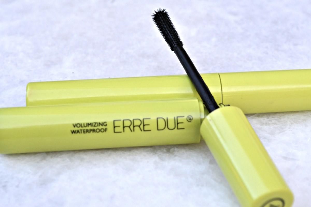 Εντυπώσεις από την Volumizing Waterproof Mascara της Erre Due