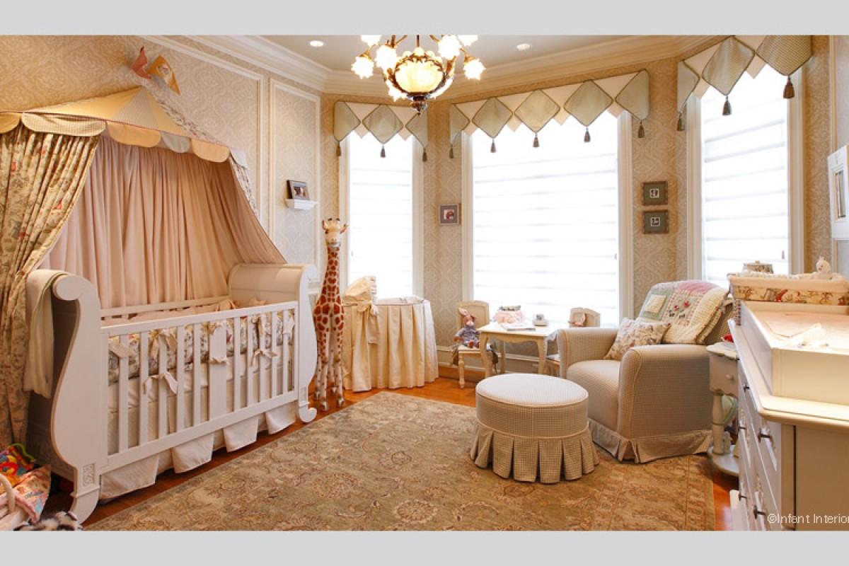 Πολυτελή βρεφικά δωμάτια