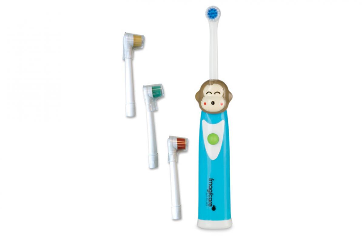Ηλεκτρική οδοντόβουρτσα; Ναι!