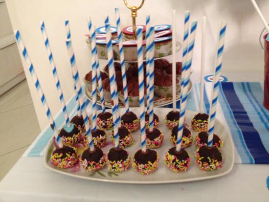 πάρτι στρουμφάκια cakepops 2
