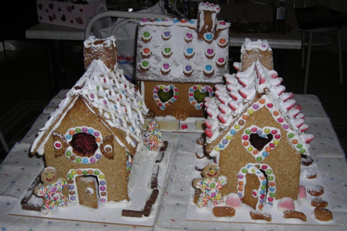 Gingerbread Σπιτάκια για τις γιορτές (και όχι μόνο)
