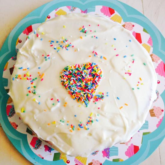 funfetti cake 3