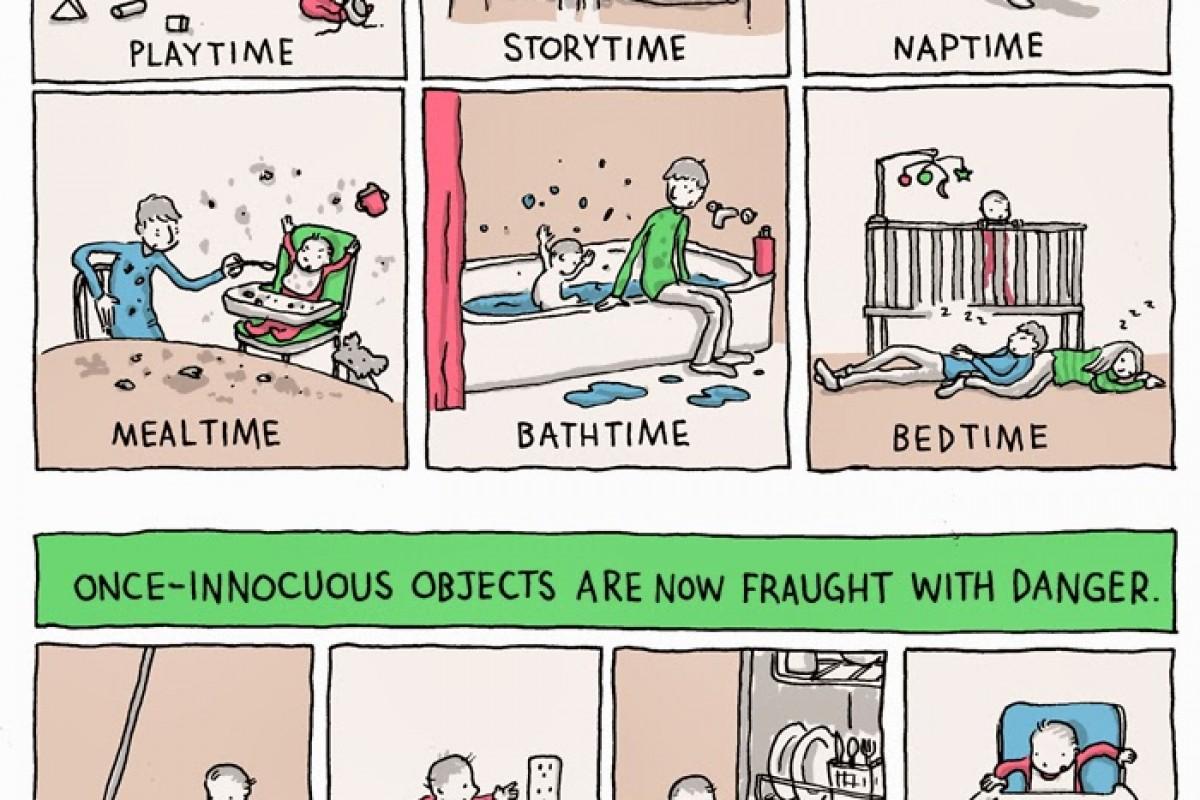 Γονιός για ένα χρόνο – ένα σκίτσο χίλιες λέξεις