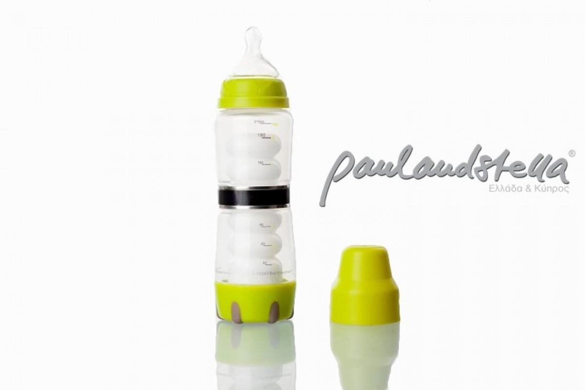 paulandstella: το μπιμπερό που ζεσταίνει το γάλα… μόνο του!