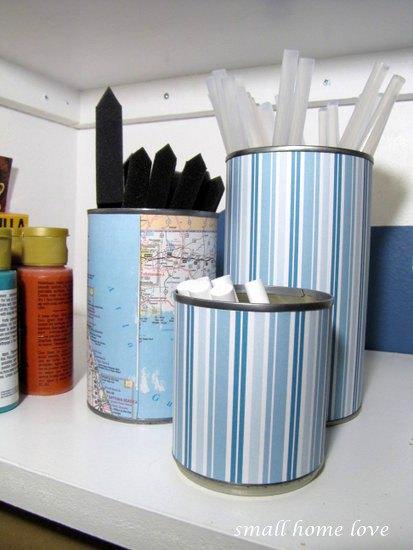 1pretty-recycled-can-craft-supplies-storage