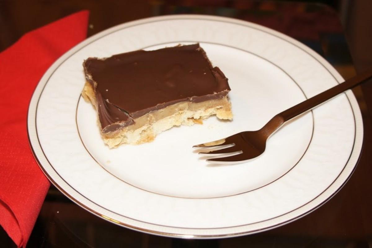Σοκολατένιο μπισκότο με καραμέλα