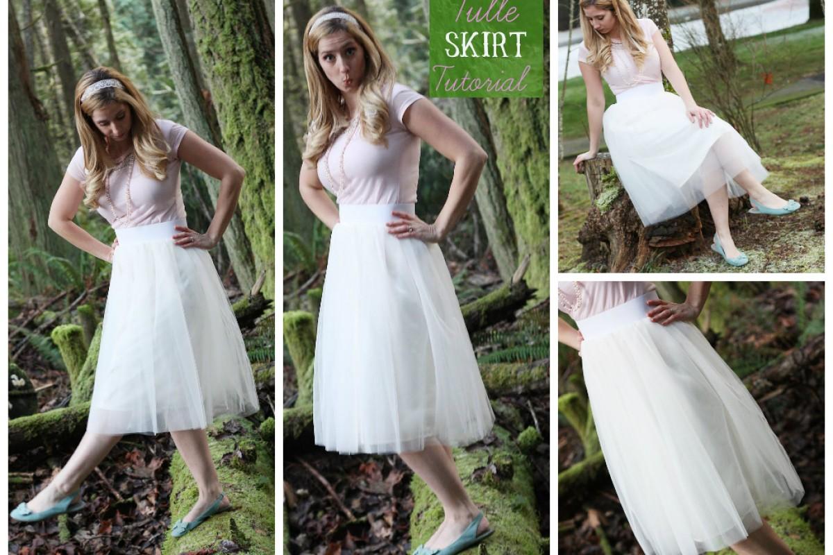 DIY – Φτιάξτε τούλινη φούστα