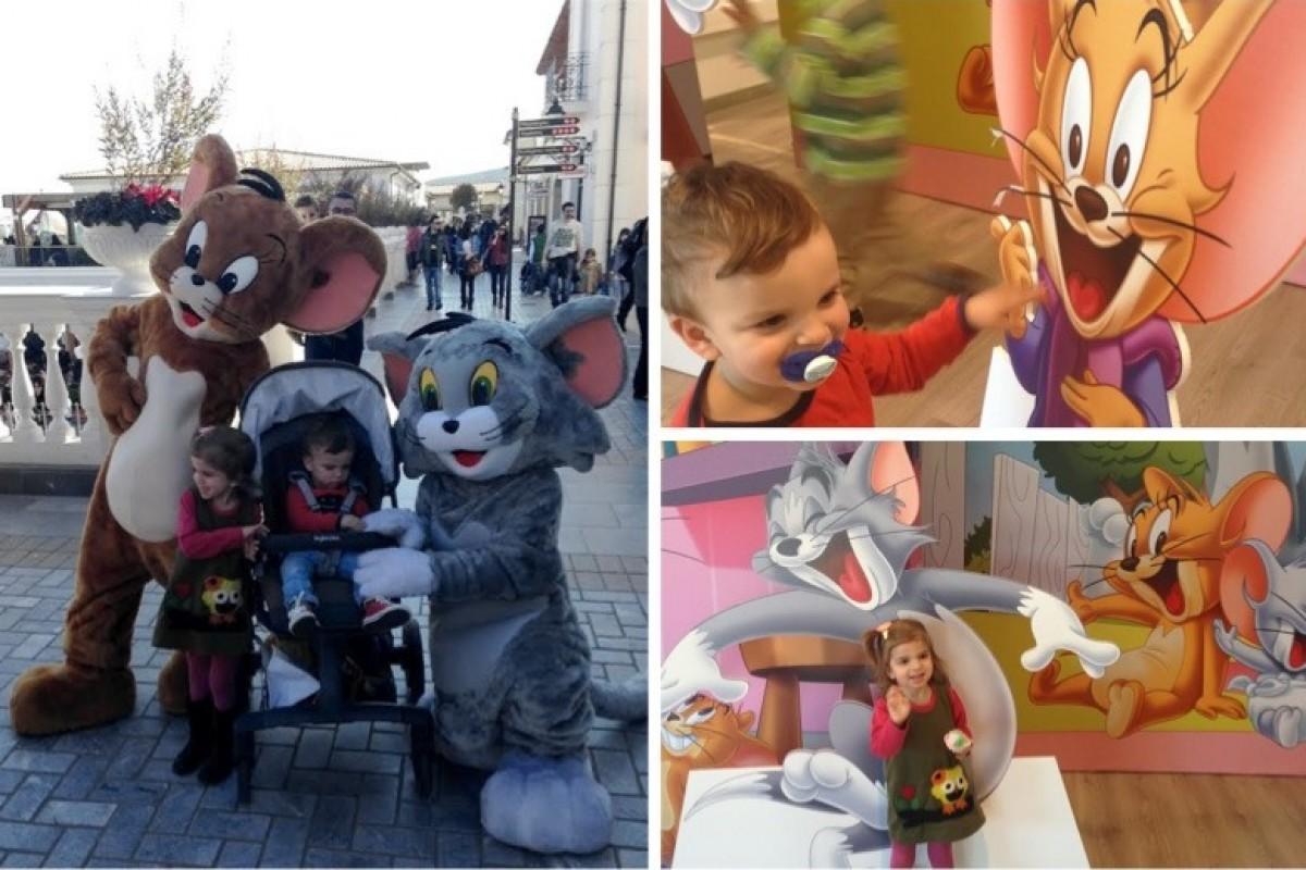 Συναντήσαμε τους Tom & Jerry στο εκπτωτικό χωριο McArthurGlen!
