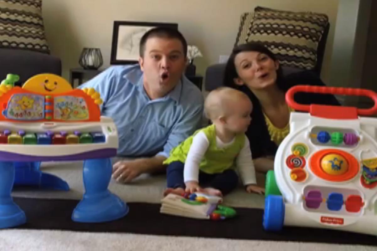 Η καλύτερη βιντεοανακοίνωση εγκυμοσύνης;