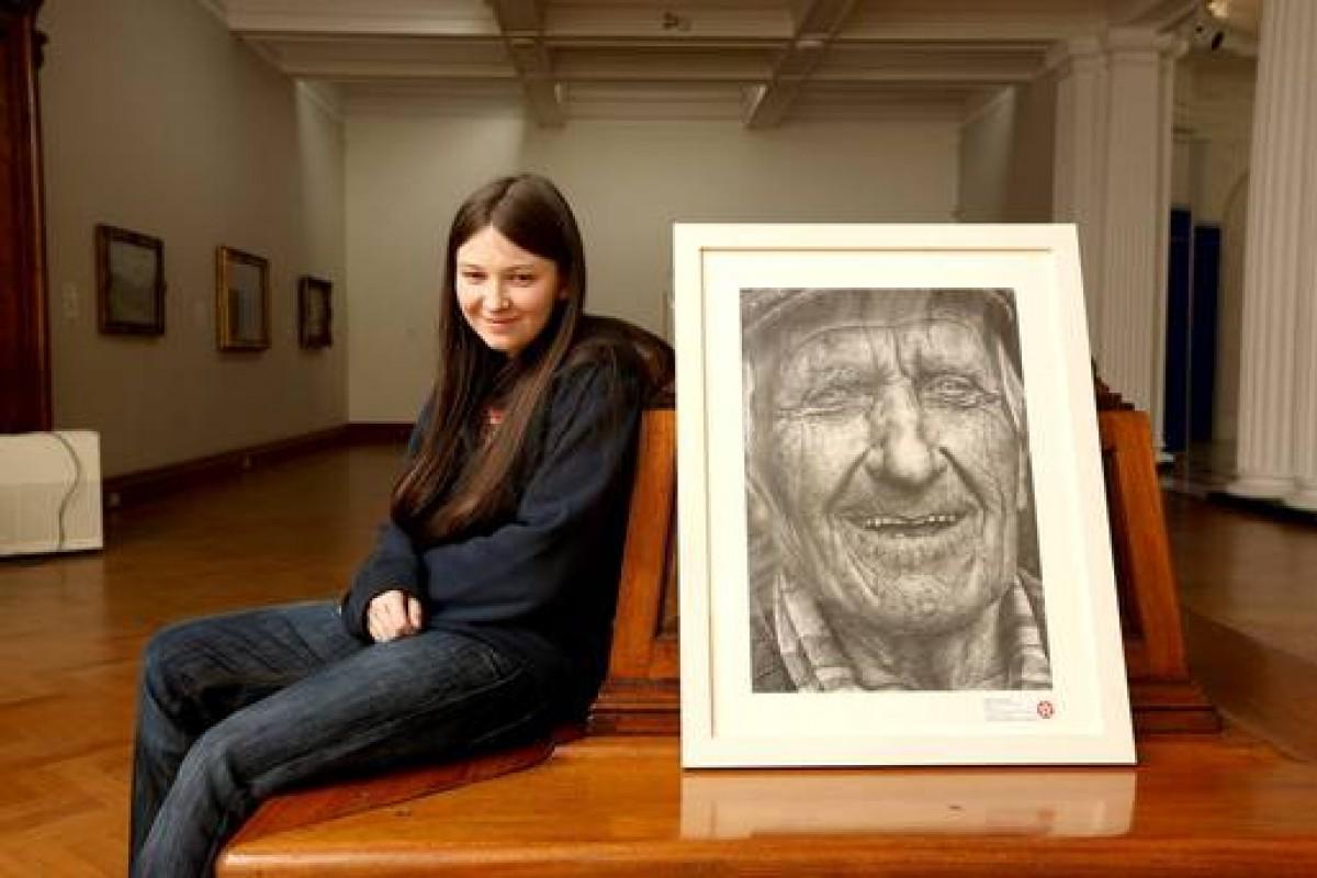 Μία ταλαντούχα ζωγράφος ετών 16