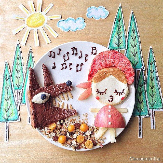 Malaysia-based-mom-Samantha-Lee-known-making-creative-food-art