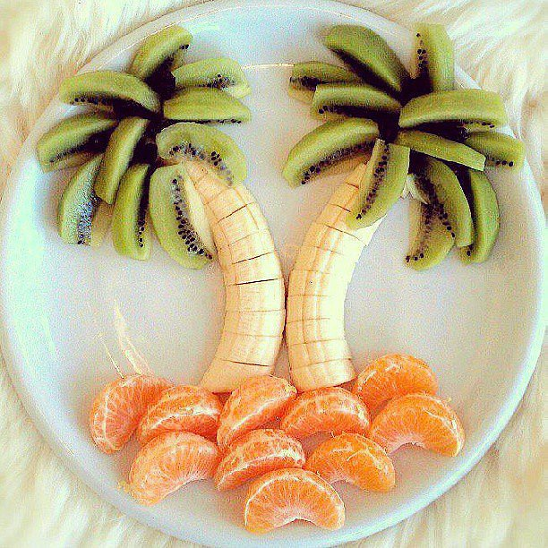 Palm-trees-made-from-fruit-remind-us-carefree-days-Summer