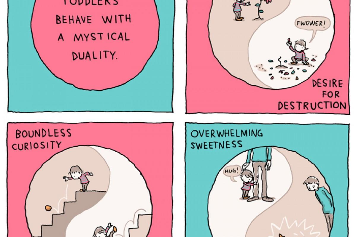 Η ζωή μου με ένα νήπιο – μια υπέροχη εικονογράφηση