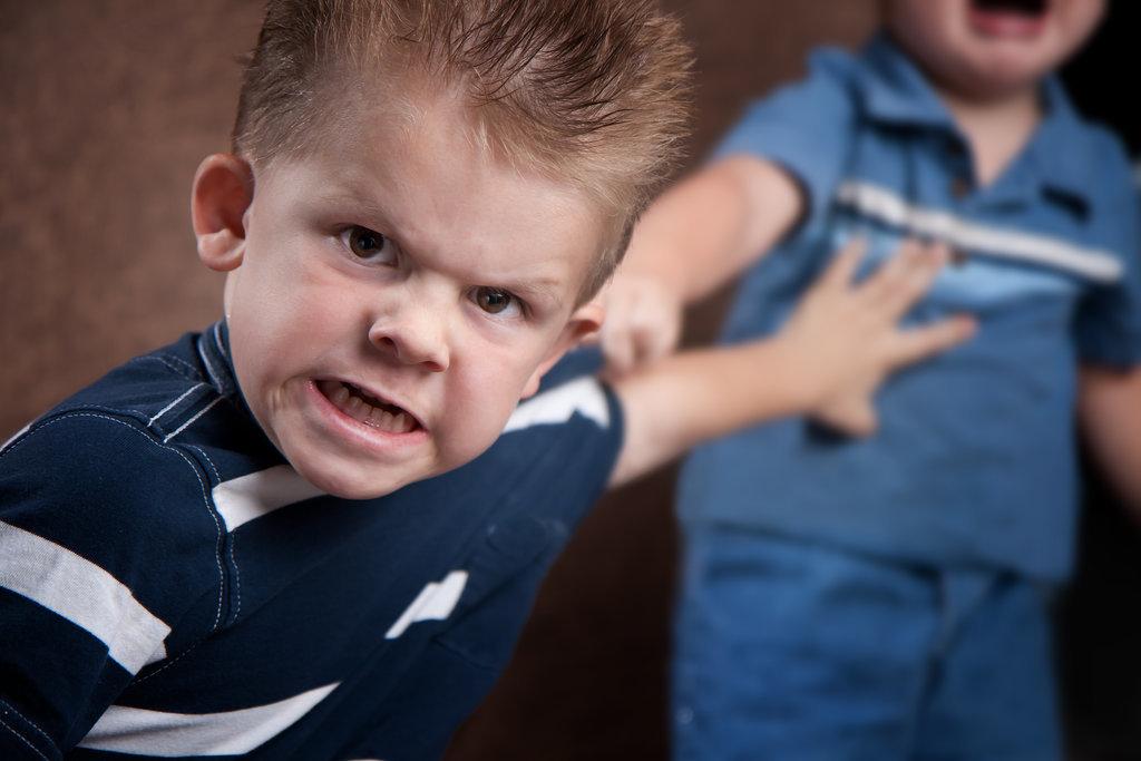 He-Shows-Agressive-Behavior