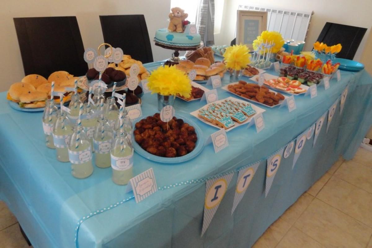 Ένα baby shower πάρτυ για την Αναστασία