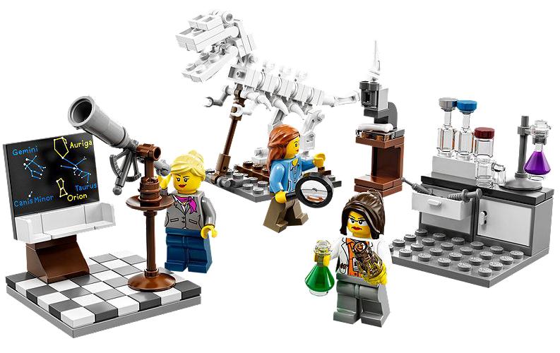 Η LEGO λανσάρει γυναικείες φιγούρες επιστημόνων
