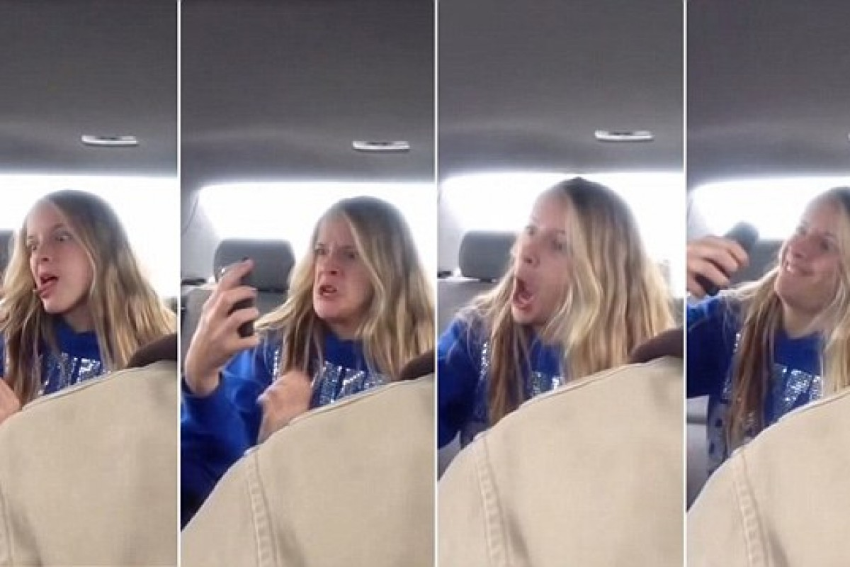 Ένας μπαμπάς τσακώνει την κόρη του στα πράσα να βγάζει selfies