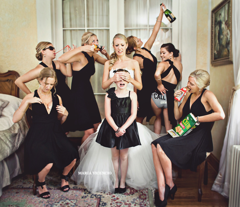 crazy_bridal_party
