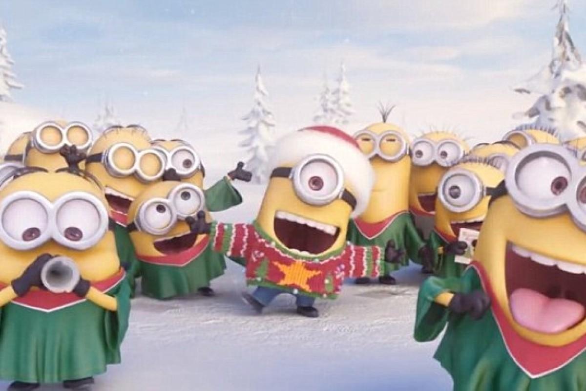 [Βίντεο] Τα Minions σας τραγουδούν τα κάλαντα!