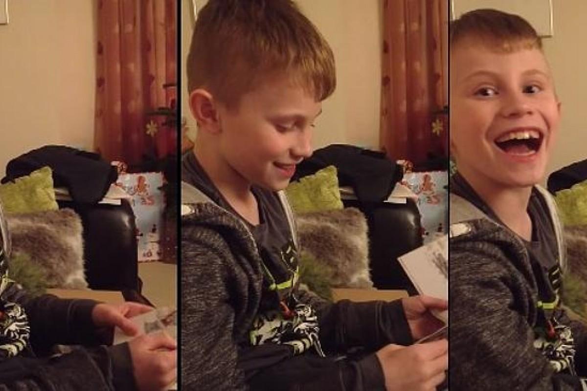 [Βίντεο] Ο Ethan απέκτησε το καλύτερο δώρο τα φετινά Χριστούγεννα