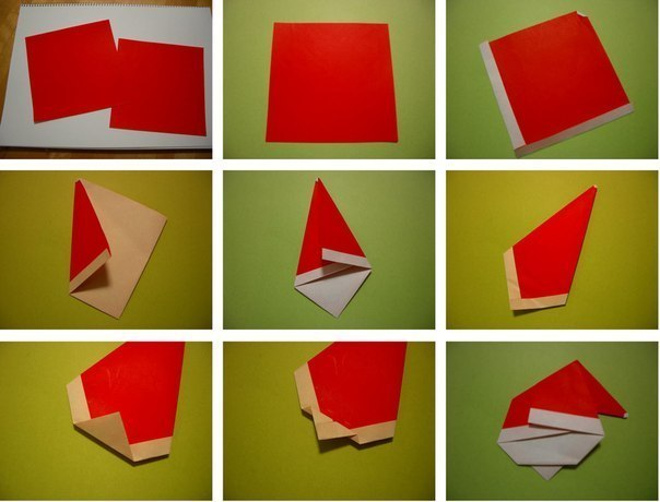 Create-Extremely-Cheerful-DIY-Origami-Santa-Claus-For-Your-Decor-or-as-Gifts-0-3