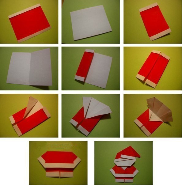 Create-Extremely-Cheerful-DIY-Origami-Santa-Claus-For-Your-Decor-or-as-Gifts-0-4