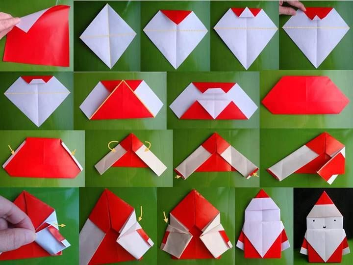 Create-Extremely-Cheerful-DIY-Origami-Santa-Claus-For-Your-Decor-or-as-Gifts