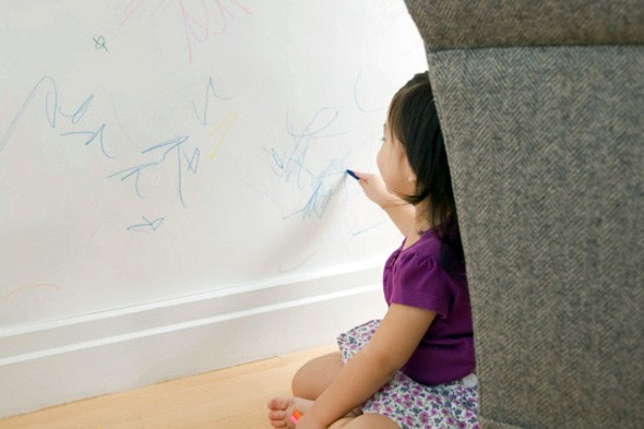 drawing-on-wall