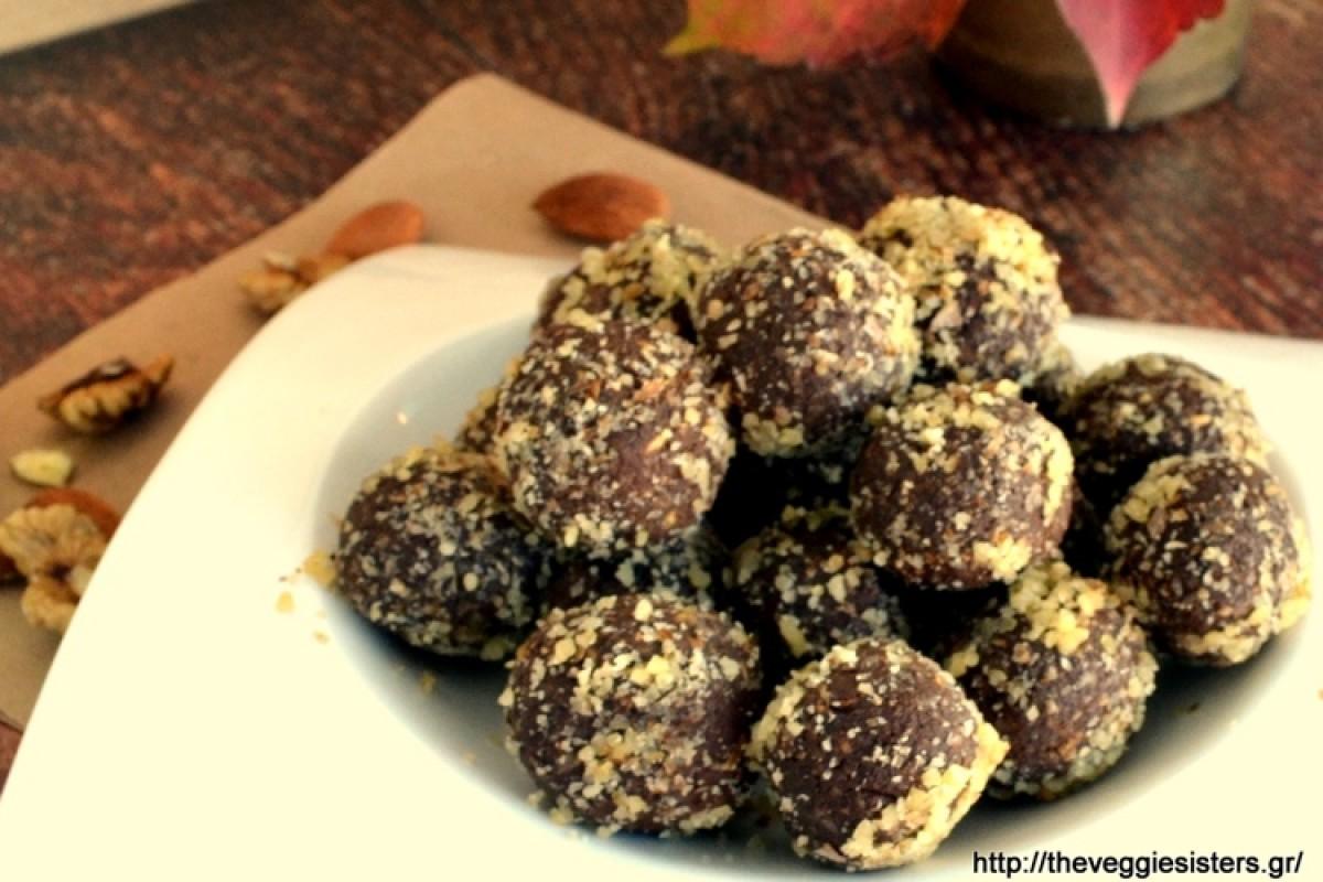 Υπέροχα τρουφάκια με σοκολάτα και αβοκάντο!