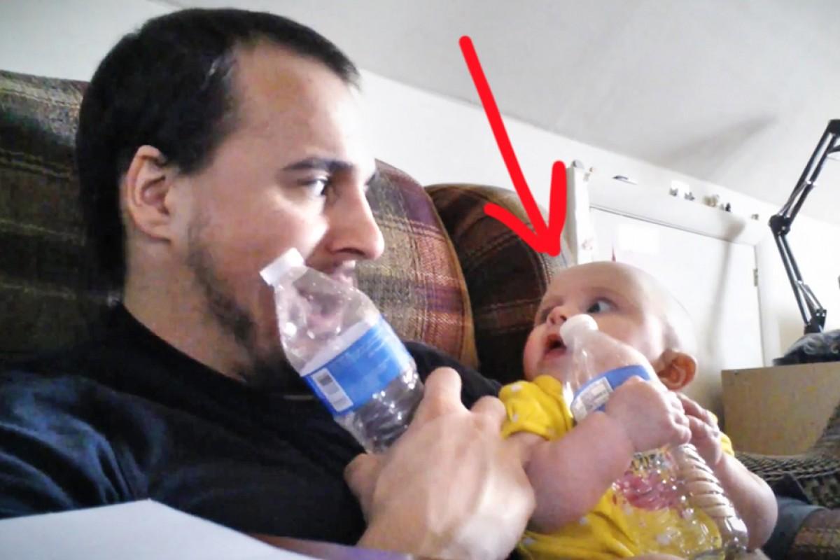 Αυτός ο μπαμπάς βρήκε έναν… πρωτότυπο τρόπο να έρθει πιο κοντά με την κορούλα του