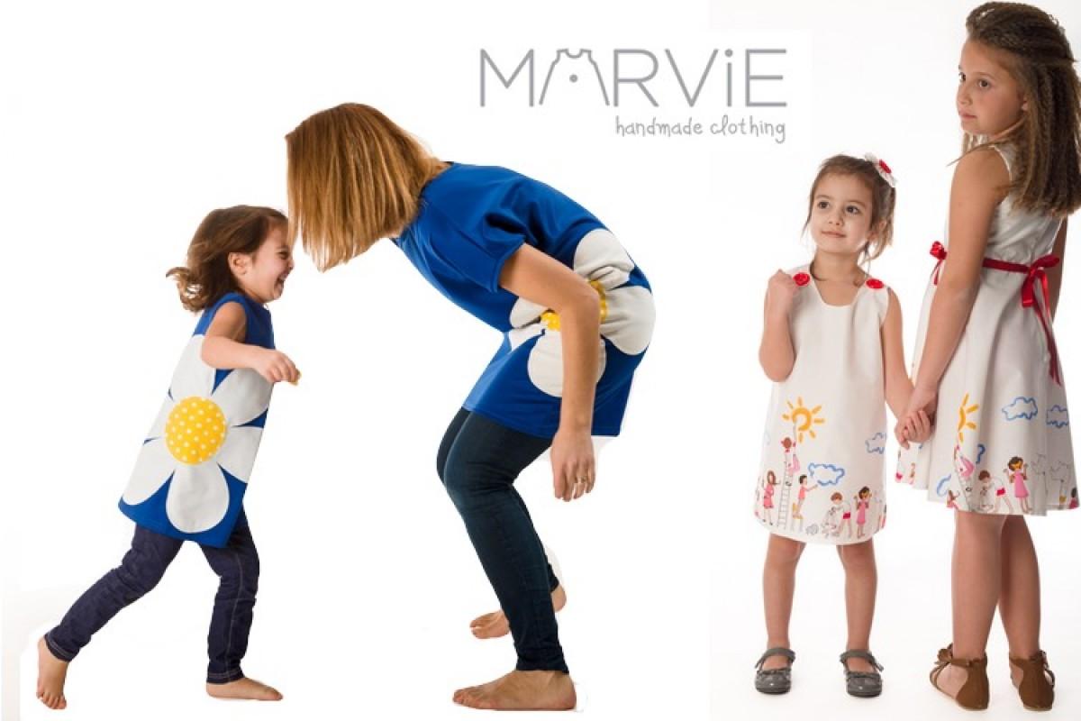 Marvie: τσαχπίνικα φορεματάκια από τα ομορφότερα υφάσματα!