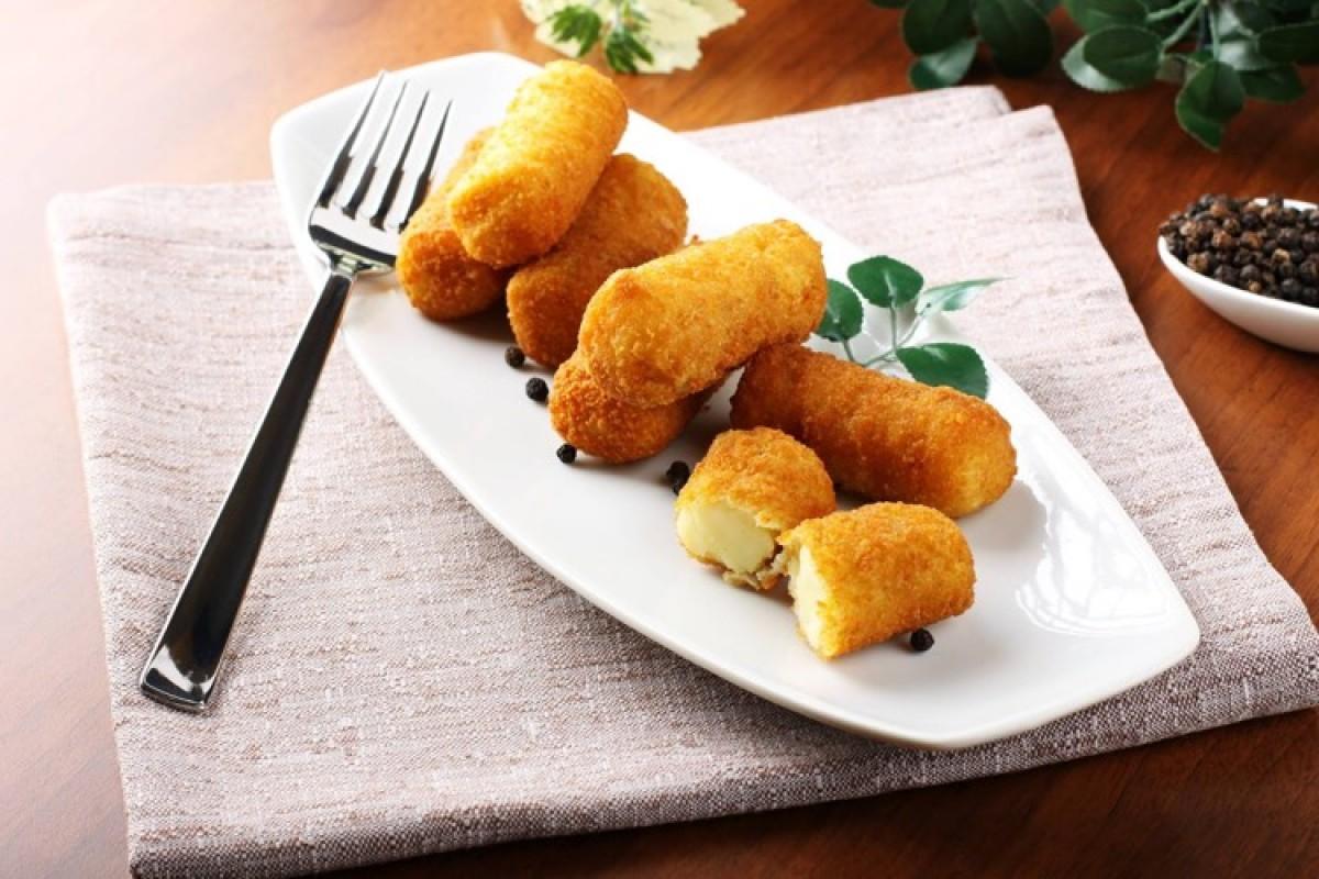 Τραγανές κροκέτες τυριού