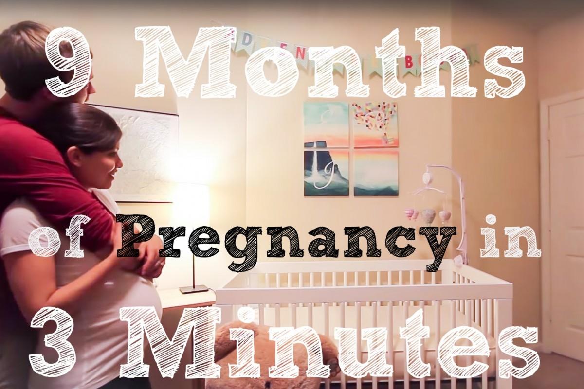 [Βίντεο] Πόσα μπορούν να αλλάξουν μέσα σε εννιά μήνες;