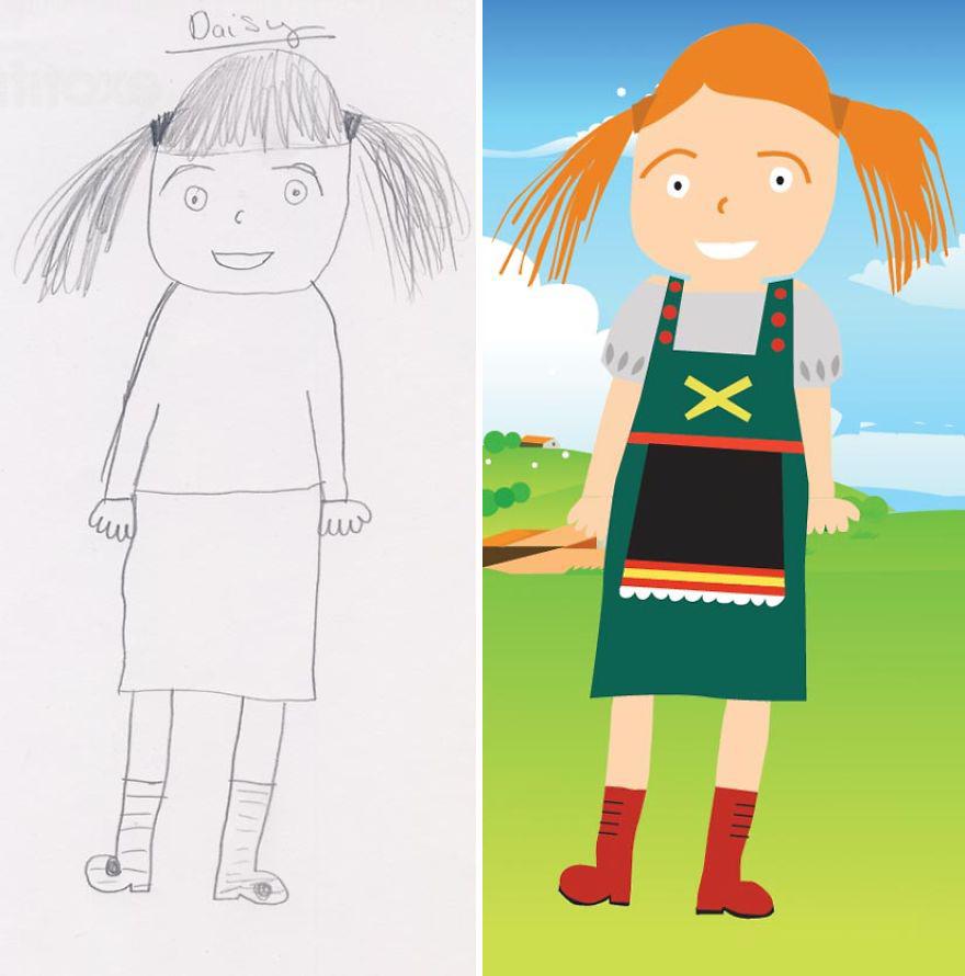 dad-re-draws-his-daughters-pencil-sketches-13__880