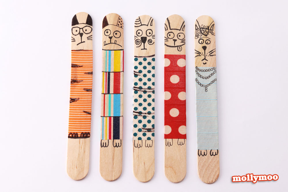 cats-craft-stick-dolls