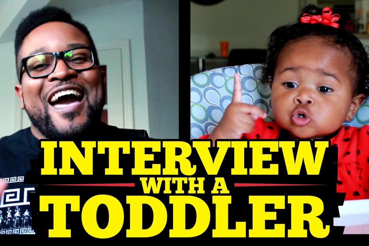 Συνέντευξη… μ' ένα νήπιο!