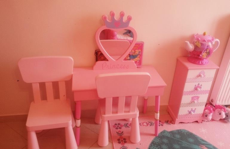 Το ροζ δωμάτιο της Μαρίας και της Αναστασίας