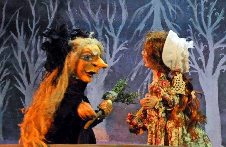 Ο Φασουλής και η Μάγισσα Μπαχλεβίτσα στο κουκλοθέατρο της ΧΑΝΘ