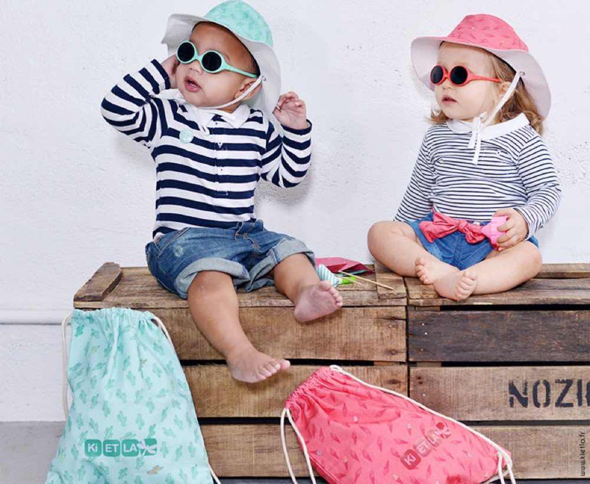 Γυαλιά ηλίου και καπέλο Kietla: το τελειότερο καλοκαιρινό σετ δώρου για μωρά!