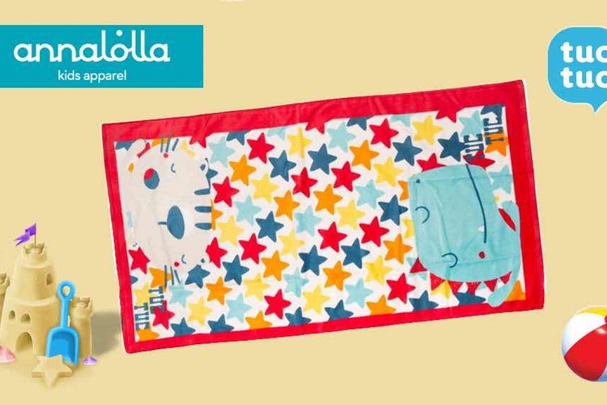 ΕΛΗΞΕ: Κερδίστε μια πετσέτα θαλάσσης tuc tuc από την annalolla!
